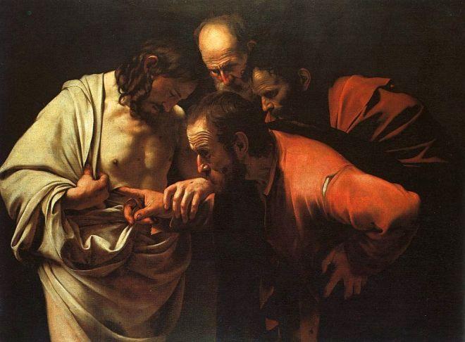 Retrieved from http://en.wikipedia.org/wiki/Doubting_Thomas#mediaviewer/File:Caravaggio_-_The_Incredulity_of_Saint_Thomas.jpg