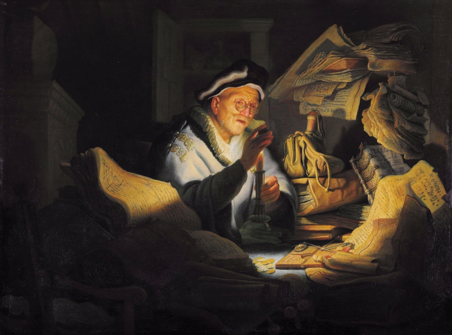Rembrandt [Public domain], via Wikimedia Commons