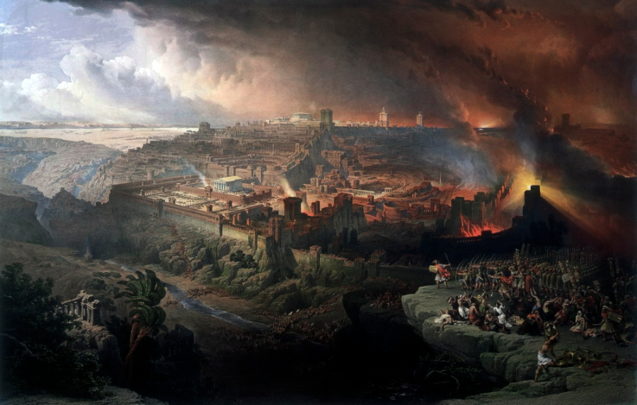 By David Roberts - http://www.preteristarchive.com/ARTchive/1850_roberts_destruction-jerusalem.html, Public Domain, https://commons.wikimedia.org/w/index.php?curid=3267412